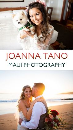 Maui born and raised, Joanna Tano developed an interest in photography while a high school student. She continued to take photography classes at the University of Hawaii where she gained a technical proficiency that is now second nature to her. During her own wedding, she discovered how essential the photographer could be in helping the bride and other members of the wedding party feel at ease. #joannatano #tano #photography #mauiweddings #weddings Maui Photographers, Portrait Photographers, Maui Wedding Photographer, Wedding Photography, University Of Hawaii, Maui Weddings, Photography Classes, High School Students
