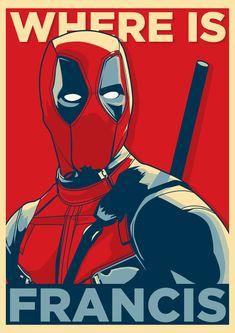 #Deadpool #Fan #Art. (Where is Francis?) By: Sinthujank. (THE * 5 * STÅR * ÅWARD * OF: * AW YEAH, IT'S MAJOR ÅWESOMENESS!!!™)[THANK U 4 PINNING!!!<·><]<©>ÅÅÅ+(OB4E)Where's Francis??
