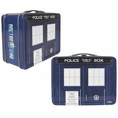 Dr Doctor Who Official BBC Collectors Set Tardis Lunchbox Travel Mug 4 Coasters | eBay