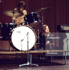 Sandy with Fairport in Denmark 1969