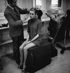 Twiggy's mod 60's style