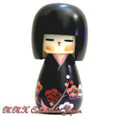 Lovely Japanese Creative Kokeshi Doll by Kojo Tanaka - HARU-WO-YOBU (CALL FOR SPRING) - MMH Collectibles Japan