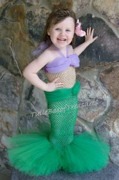 Hey, I found this really awesome Etsy listing at https://www.etsy.com/listing/170008127/adorable-little-mermaid-tutu-costume