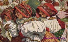 Na pouti - by Czech artist Joža Uprka (1861-1940, Hroznová Lhota), painter and graphic artist, whose work combines elements of Romanticism and Art Nouveau to document the folklife of Southern Moravia
