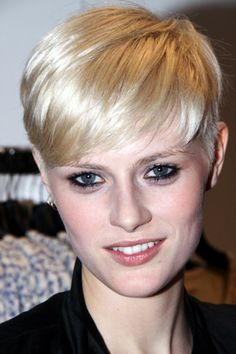 Louise Donegan: another pixie haircut inspiration