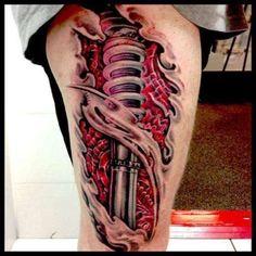 19 Tattoo Mechanical
