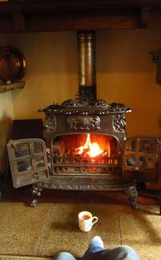 a cute, potbellied stove
