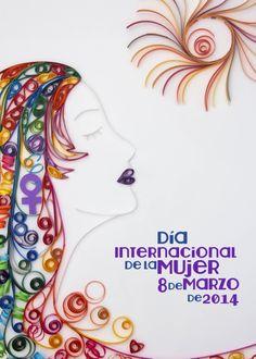 Propuesta Cartel Dia de la Mujer de Talavera de la Reina.