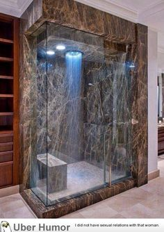 Rainfall shower