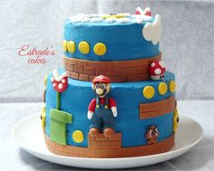 Estrade's cakes: tarta Mario Bros