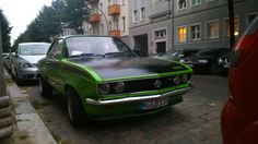 A stunning Opel Manta parked somewhere in Friedrichshain (Berlin). Berlin, Cars, Vehicles, Opel Manta, Autos, Car, Car, Automobile, Vehicle