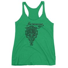 How She Was Lost Women's tank top