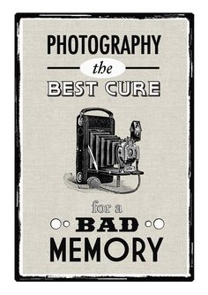 Photography is the Best Cure...