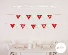 Remodelaholic | 25 Free Colorful & Crafty Christmas Printables; Day 1