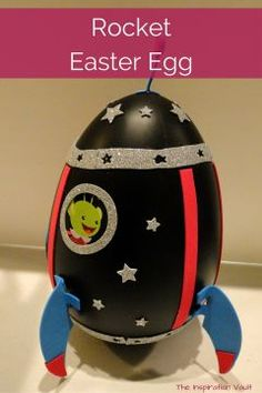 Feature showing the Rocket Easter Egg craft kit from Target's Spritz collection assembled by an actual kid for an Easter decoration. Easter Activities For Kids, Easter Egg Designs, Easter Religious, Diy Ostern, Easter Crafts For Kids, Egg Decorating, Holiday Decorating, Easter Baskets, Easter Eggs