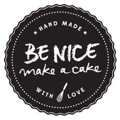 "Blog ""be nice, make a cake"""
