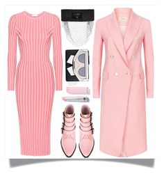 """""""Pink Coat"""" by skad183 on Polyvore featuring Puma, Altuzarra, Toga, Temperley London and Karl Lagerfeld"""
