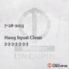 Rest as needed between sets to maximize loading. I recommend no less than 3 minutes. Post loads to comments. #CrossFit