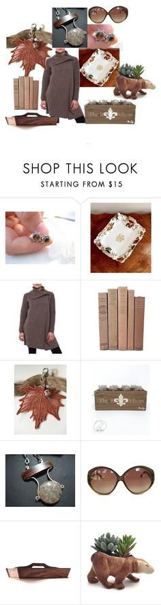 """Beautiful Fall Days"" by inspiredbyten ❤ liked on Polyvore featuring Haviland and vintage"