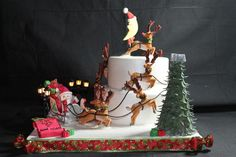 Merry Christmas to all ,and to all a Good Night - Cake by Nancy Travis Wheaton's…