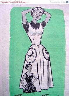 Love the crescent moon pockets on sun dress $19.21 on Etsy