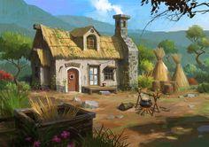 house, Lee b on ArtStation at https://www.artstation.com/artwork/house-c7333aa7-d363-40e5-968f-1f80742dbe8c