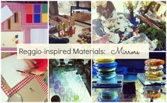 Reggio-inspired Materials: Mirrors