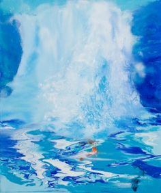 This is oil-falls9 / Oil on canvas, 2011 /