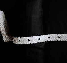 Silver floral style with rhomboid cut work cut by ColourCocoon