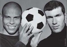 Ronaldo e Zidane <3