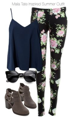 """""""Teen Wolf - Malia Tate Inspired Summer Outfit"""" by staystronng ❤ liked on Polyvore featuring Dolce Vita, NLY Trend, ZeroUV, TeenWolf, tw and maliatate"""