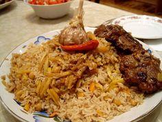 türkmen-pilavı
