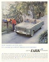 Studebaker Lark Convertible 1960 Ad Picture