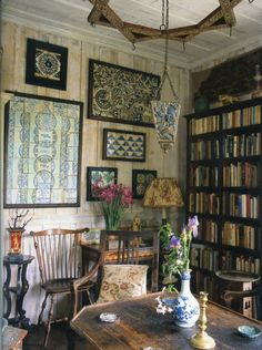 """robert-hadley:  """" Tangier home of writer and horticulturist Umberto Pasti.  The World of Interiors, March 2012. Photo - Christopher Simon Sykes  """""""