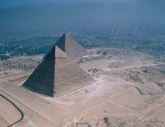 Pyramids of Giza, - ancient seven wonders of the world