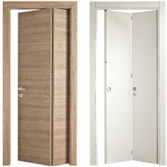Interesting solution to save door space (Bertolotto Porte)