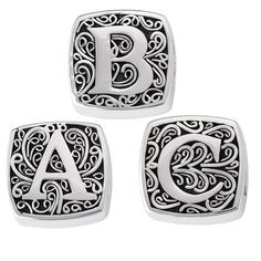 Lori Bonn Slide Charm - Alpha Bonn Bons $88.00