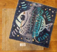 "Panels in the application technique ""Fish mine."" - Fair Masters - handmade, handmade"
