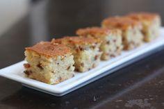 Week of Menus: Bacon Maple Mochi Cake - Ba-Ma-Chi Cake: Split personality