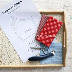 pattern face mask free - pattern face mask - pattern face mask diy - pattern face mask free - pattern face mask with filter Small Sewing Projects, Sewing Projects For Beginners, Sewing Tutorials, Sewing Hacks, Sewing Crafts, Sewing Tips, Techniques Couture, Sewing Techniques, Diy Mask