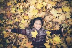 autumn leaves boy | Flickr - Photo Sharing!