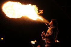 Noc Ognia w Muszli Koncertowej w Lublinie #fireshow #fire #spittingfire #show #circus #newcircus #dangerous #ogień #pokaz #impreza #cyrk #nowycyrk #plucieogniem