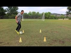 Soccer Drills | Improving Ball Control and Finishing - YouTube