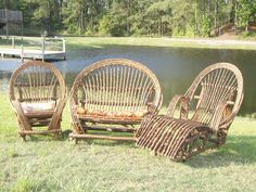 I also like this willow furniture...