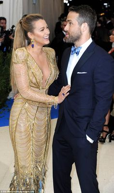 Look of love: Blake and Ryan still looked smitten, barely able to take their eyes off one another at the gala