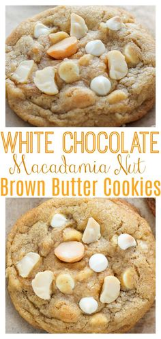 Easy Cookie Recipes, Cookie Desserts, Just Desserts, Sweet Recipes, Baking Recipes, Delicious Desserts, Dessert Recipes, Yummy Food, Fall Desserts