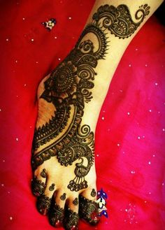 heena design for legs