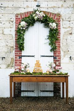 Whimsical cake table styled by Louise Beukes Styling