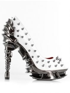 Talon High Heels by Hades (White) #inkedshop #shoes #fancyfootwork #obsessed #fashion