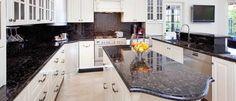 #Granit eignet sich sowohl für die #Arbeitsplatte als auch für die #Küchenrückwand.   http://www.werk3-cs.de/granit